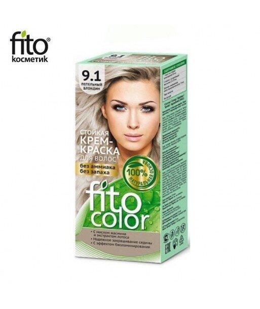 Farba do włosów 9,1 POPIELATY BLOND - FITO COLOR