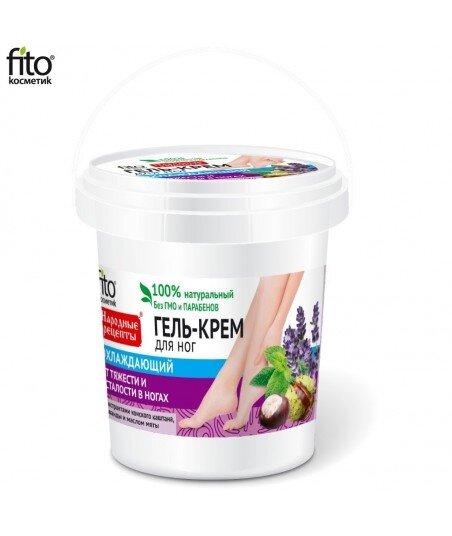 Naturalny Żel - krem odżywczo - chłodzący do stóp, 155ml