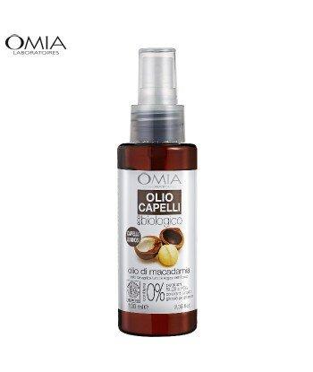 Olej - Spray do Włosów z Olejkiem z Orzechów Makadamia, OMIA Laboratoires 100ml