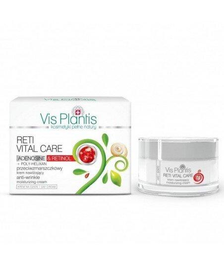 Vis Plantis Reti Vital Care Krem przeciwzmarszczkowy, nawilżający na dzień z retinolem i adenozyną