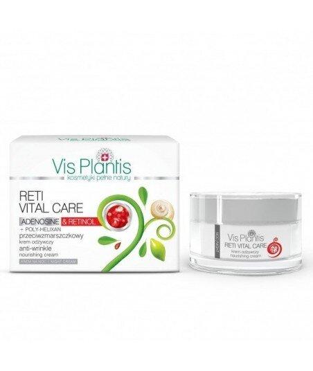Vis Plantis Reti Vital Care Krem przeciwzmarszczkowy, odżywczy na noc, z retinolem i adenozyną