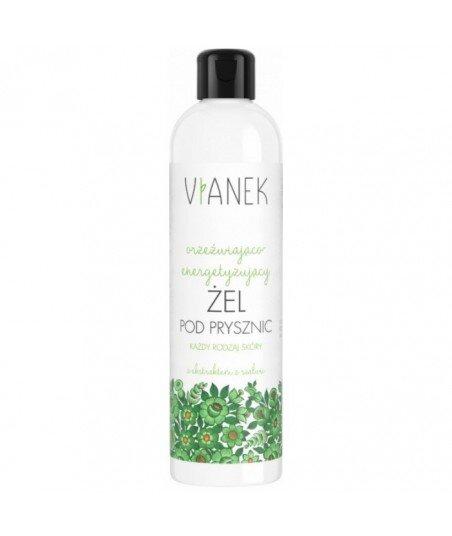Orzezwiająco - Energetyzujący żel pod prysznic z ekstraktem z szałwi, 300ml VIANEK / SYLVECO