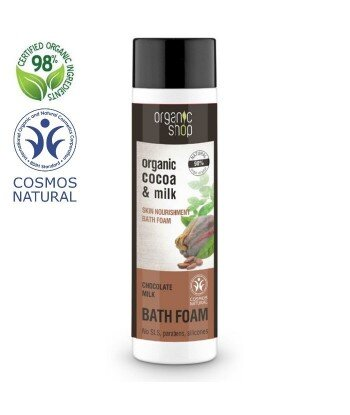Organiczny Płyn do kąpieli - Czekoladowe Mleko, 500ml - Organic Shop