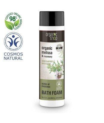 Organiczny Płyn do kąpieli - Elastyczna Skóra, 500ml - Organic Shop
