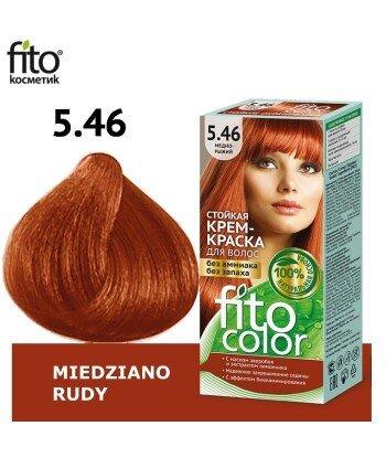 Farba do włosów 5,46 MIEDZIANO RUDY - FITO COLOR