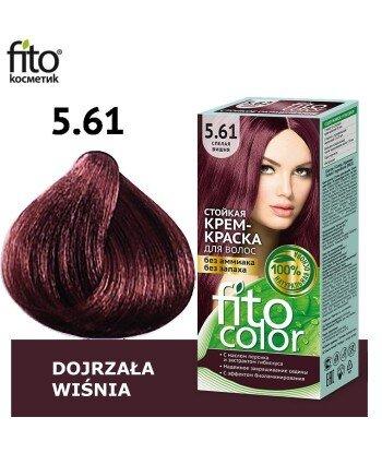 Farba do włosów 5,61 DOJRZAŁA WIŚNIA - FITO COLOR