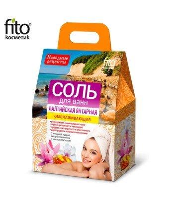 Sól do kąpieli Bałtycka Bursztynowa 500g
