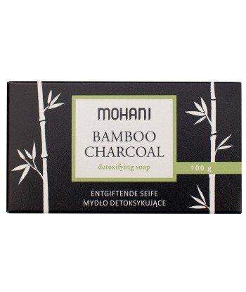 Mydło z aktywnym węglem bambusowym - MOHANI 100g