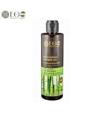 Nawilżający żel pod prysznic - australijski bambus, kwas hialuronowy, kompleks witamin - 250ml