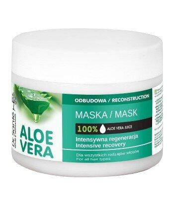 Dr. Santé Aloe Vera maska aloesowa z keratyną, ceramidami dla wszystkich rodzajów włosów 300ml