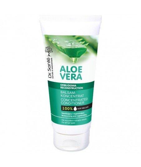 Dr. Santé Aloe Vera balsam aloesowy z keratyną, ceramidami roślinnymi do wszystkich rodzajów włosów 200ml