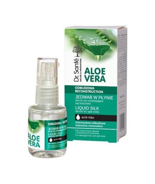 Dr. Santé Aloe Vera jedwab w płynie serum aloesowe łamliwe końcówki 30ml
