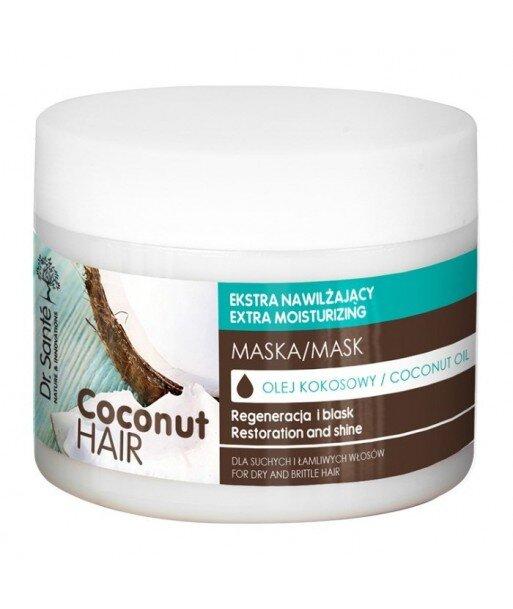 Dr. Santé Coconut Hair maska z olejem kokosowym do suchych i łamliwych włosów 300ml