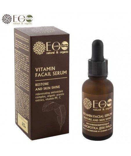 Serum witaminizujące i regenerujące, poprawiające blask skóry, 30 ml