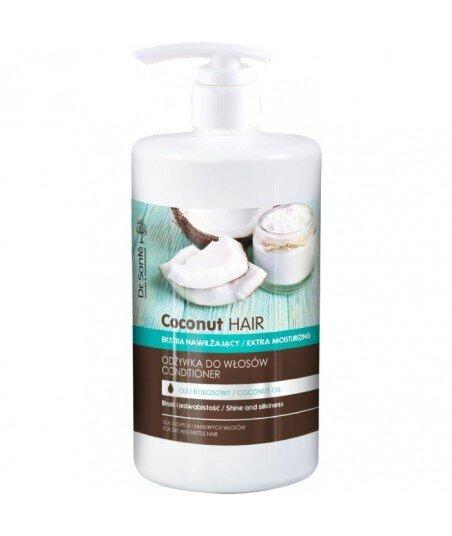 Dr. Santé Coconut Hair odżywka z olejem kokosowym do suchych i łamliwych włosów 1000ml
