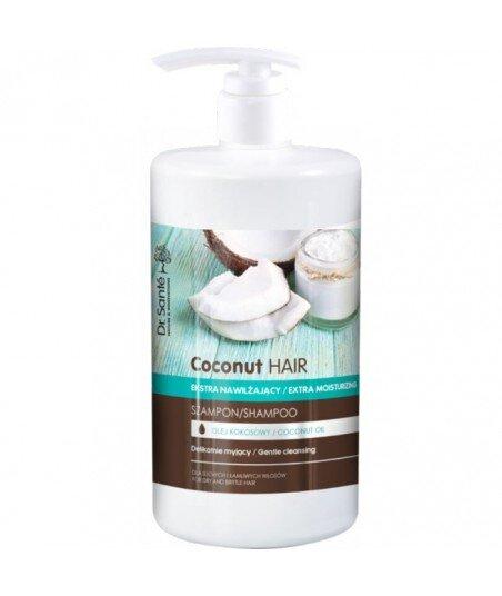 Dr. Santé Coconut Hair szampon z olejem kokosowym do suchych i łamliwych włosów 1000ml