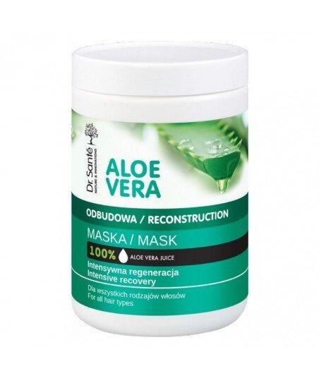 Dr. Santé Aloe Vera maska aloesowa z keratyną, ceramidami dla wszystkich rodzajów włosów 1000ml