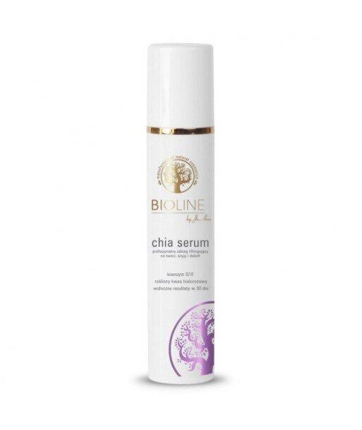Bioline Chia serum - profesjonalny zabieg liftingujacy na twarz, szyje i dekolt, 50ml