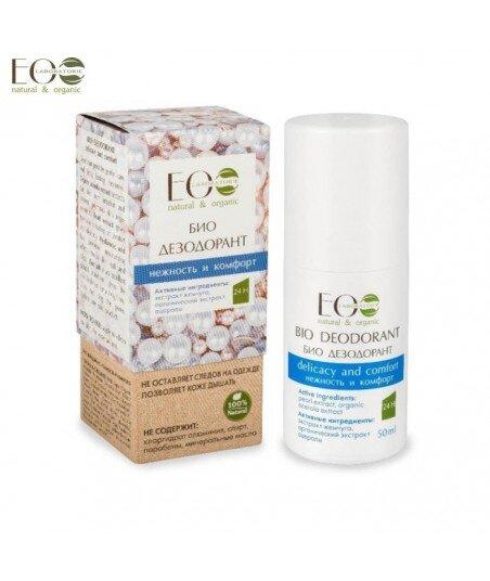 BIO-dezodorant - łagodność i komfort - organiczny ekstrakt aceroli, puder perłowy, kwas hialuronowy, 50g