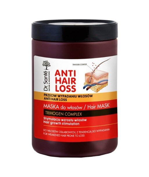 Dr. Sante. Anti Hair Loss - Maska stymulująca wzrost włosów 1000 ml