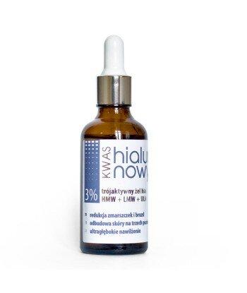 Trójaktywny kwas hialuronowy - żel 3% 50 ml