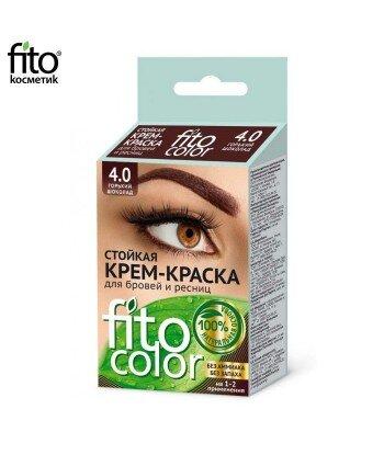 FITOCOLOR Farba do brwi i rzęs, kolor gorzka czekolada, 2x2ml - Fitokosmetik