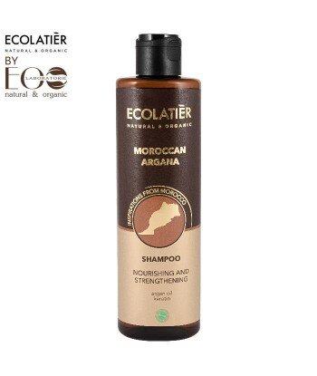 Szampon do włosów Odżywczo-wzmacniający MAROKAN ARGANA, 250 ml, ECOLATIER