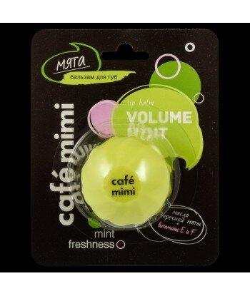 CAFE MIMI BALSAM DO UST - Mięta - Olejek z mięty pieprzowej, masło shea, olejek z awokado, witaminy E i F, 8 ml