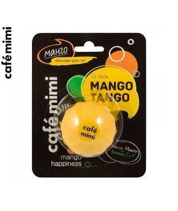 CAFE MIMI BALSAM DO UST - Mango - masło mango, masło shea, witaminy E i F, 8 ml