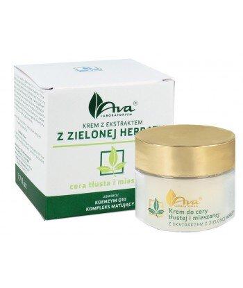 Krem z ekstraktem z zielonej herbaty do cery tłustej i mieszanej 50ml - AVA