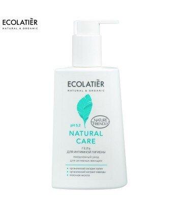Żel do higieny intymnej Natural Care - pH 5,2 - Probiotyk, kwas mlekowyi, 250 ml - ECOLATIER