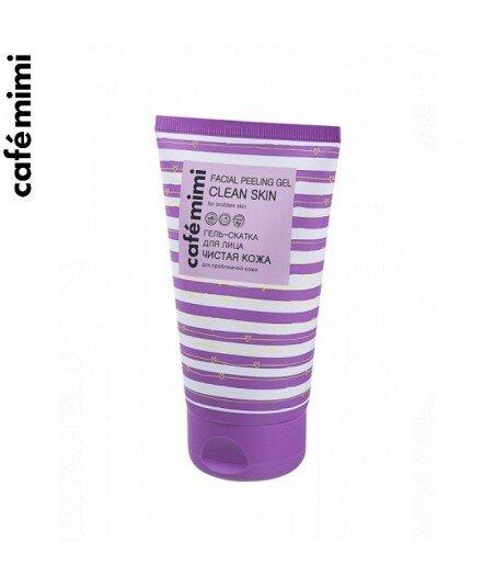 Żelowy peeling złuszczający do problematycznej skóry twarzy, 150 ml - CAFE MIMI