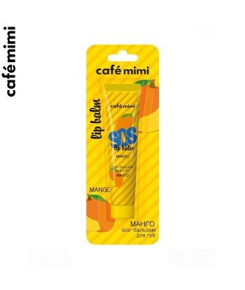Balsam do ust SOS - MANGO - Siła olejków, 15 ml - CAFE MIMI