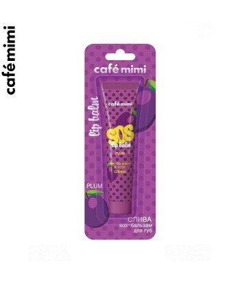 Balsam do ust SOS - ŚLIWKA - Siła olejków, 15 ml - CAFE MIMI
