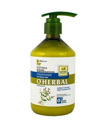 Odżywka do włosów przetłuszczających się z ekstraktem z mięty, 500ml. - Dr. Santé