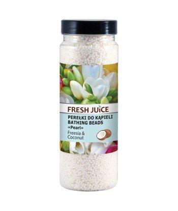 Fresh Juice Perełki do kąpieli Freesia & Coconut 450 g