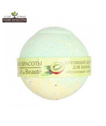 Musująca kula do kąpieli - Owocowy sorbet, 120g