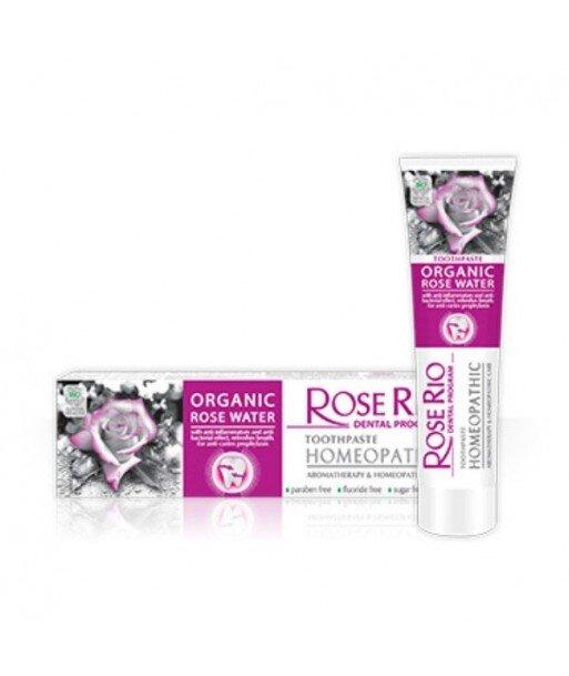 """Homeopatyczna Pasta do zębów """"Rose Rio Homeopathic"""" 65 ml."""