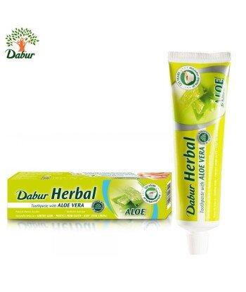 Dabur pasta do zębów z aloesem bez fluoru 100ml