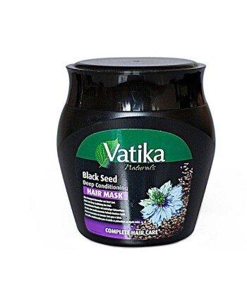 Maska do włosów zniszczonych z czarnuszką, 500g - Vatika