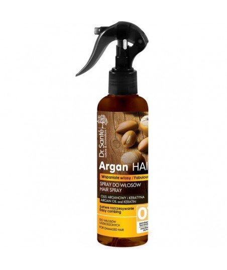 Spray do włosów Olej Arganowy i Keratyna - Dr. Santé