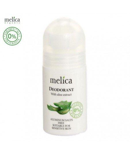 Dezodorant roll on z ekstraktem z aloesu, 50 ml - Melica Organic