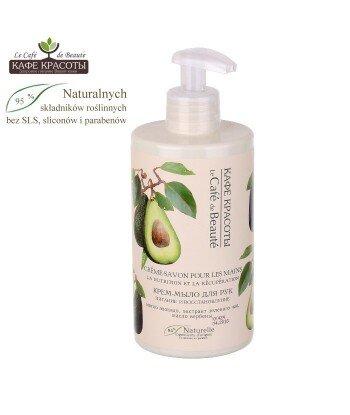 Kremowe mydło w płynie do rąk - Odżywienie i regeneracja z olejem avocado i ekstraktem z zielonej herbaty, 460ml