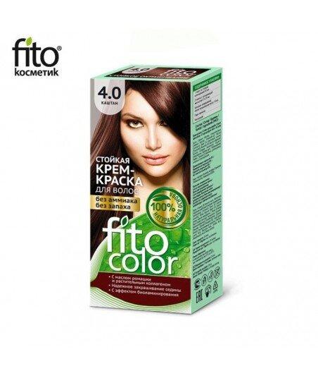 Farba do włosów 4,0 KASZTAN - FITO COLOR