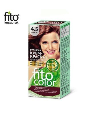 Farba do włosów 4,5 MAHOŃ - FITO COLOR