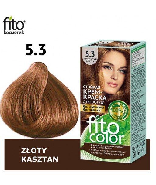 Farba do włosów 5,3 ZŁOTY KASZTAN - FITO COLOR