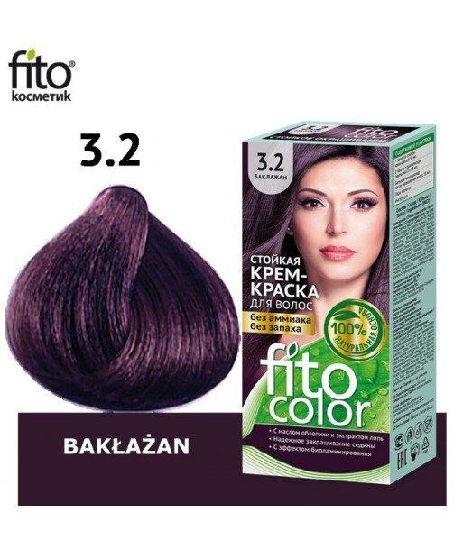 Farba do włosów 3,2 BAKŁAŻAN - FITO COLOR