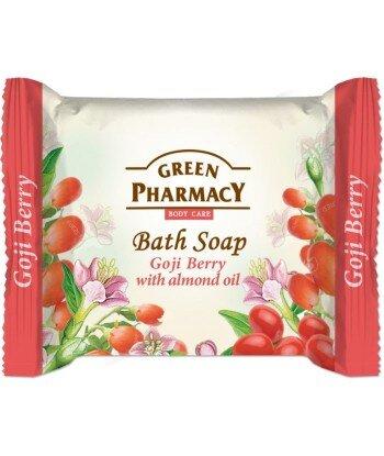 Green Pharmacy Mydło toaletowe Goji i olejek migdałowy, 100g