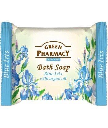 Green Pharmacy Mydło toaletowe Niebieski irys i olejek arganowy, 100g
