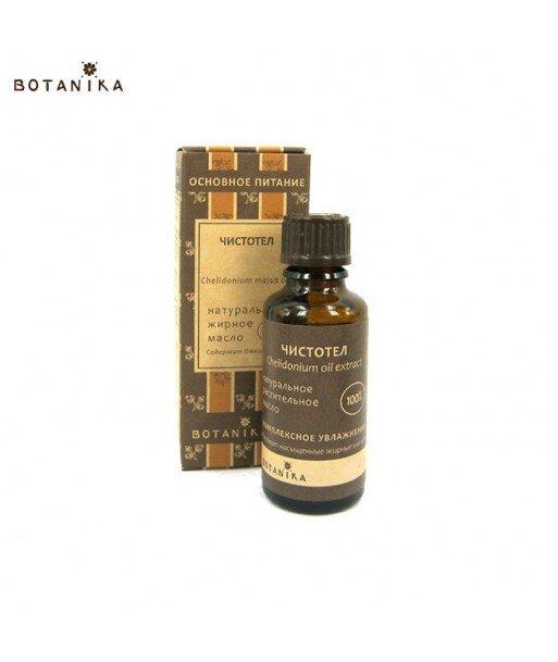 Naturalny 100% Olejek z glistnika jaskółcze ziele, 30ml - BOTANIKA